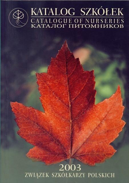 Katalog okładka