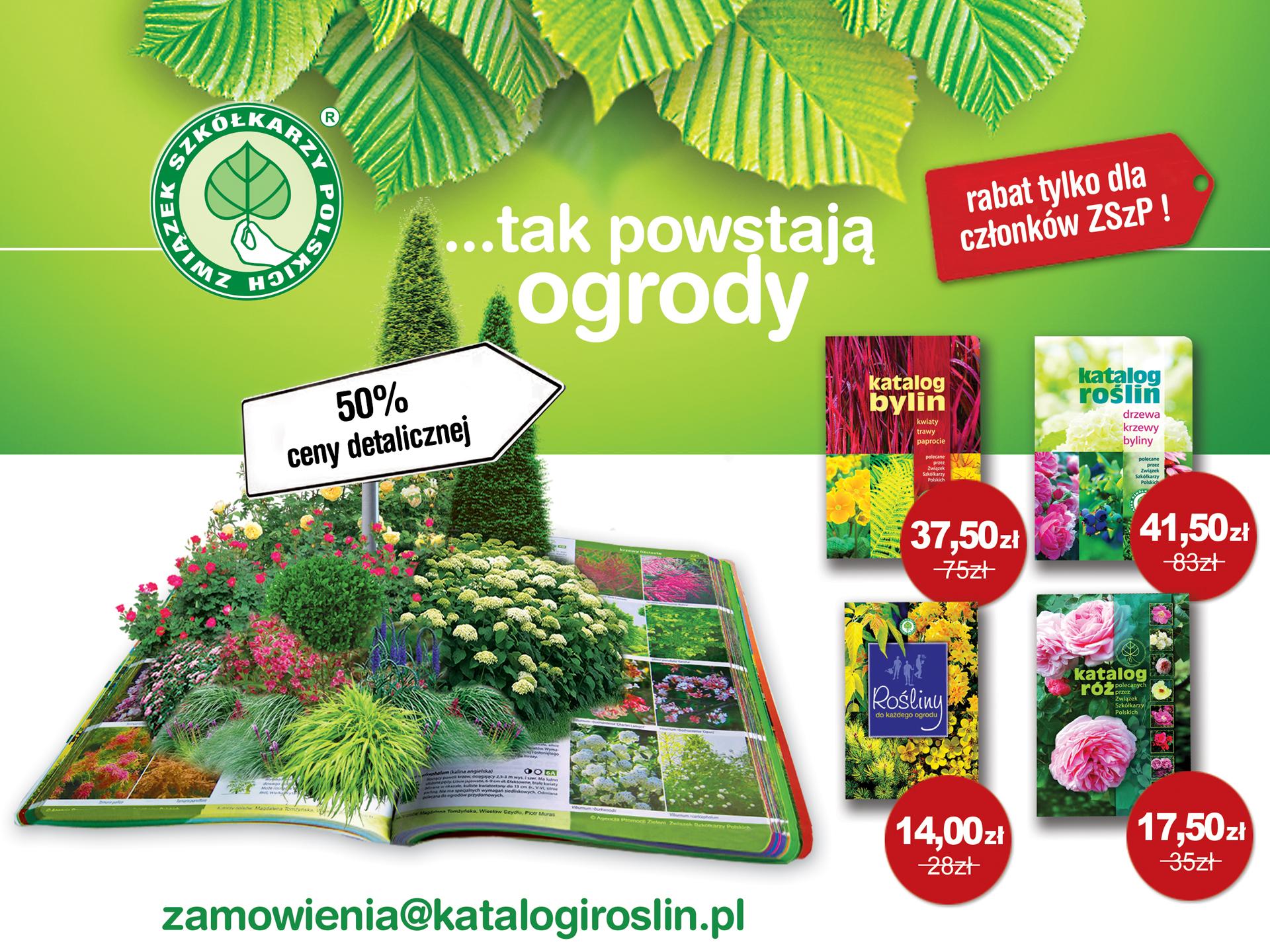 Katalogi roślin polecane przez Związek Szkółkarzy Polskich